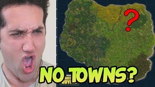 PLAYING FORTNITE SANS TOWNS!?!