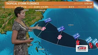 Tropics Update: Tracking Florence, other tropical systems Saturday, September 8, 2018