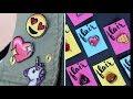 {DIY} Backpack Valentine Emoji Pins