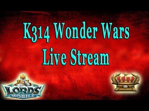 Lords Mobile First K314 Wonder Wars (Stridox V2)