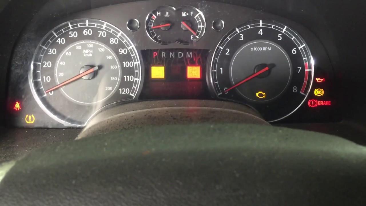 Suzuki Xl7 Check Engine Light