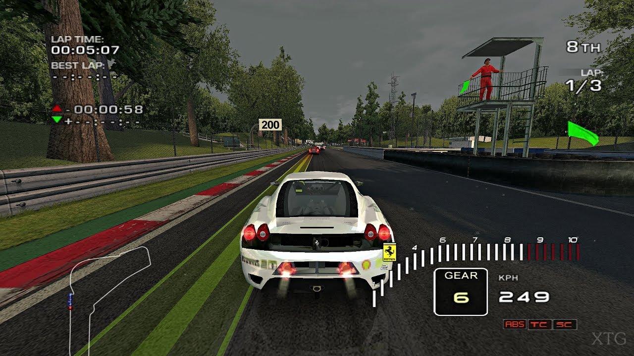 Ferrari Challenge Trofeo Pirelli Wii Gameplay Hd Dolphin Emulator Youtube
