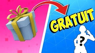 HAVE A FREE CADEAU ON FORTNITE!