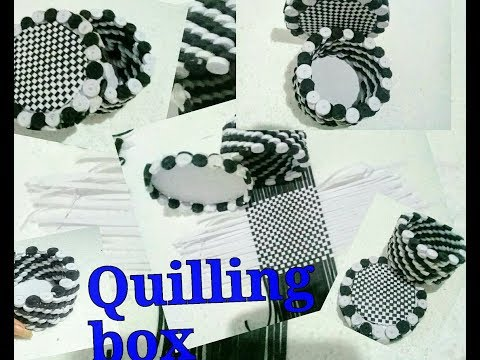 Quilling Gift box#ideas#2019