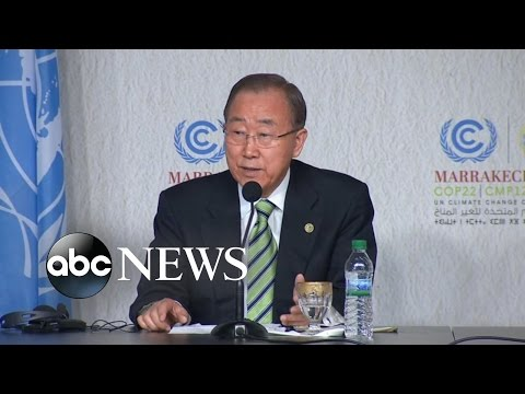 Trump Will Make 'Wise Decision' on Climate Change, UN Chief Says
