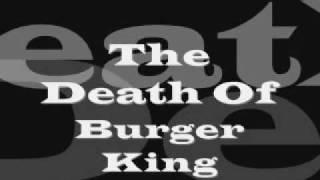 the burger king gets shot by ronald mcdonald