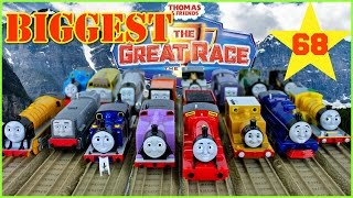 NEW BIGGEST THOMAS AND FRIENDS THE GREAT RACE #68 TrackMaster Thomas The Tank Toy Trains