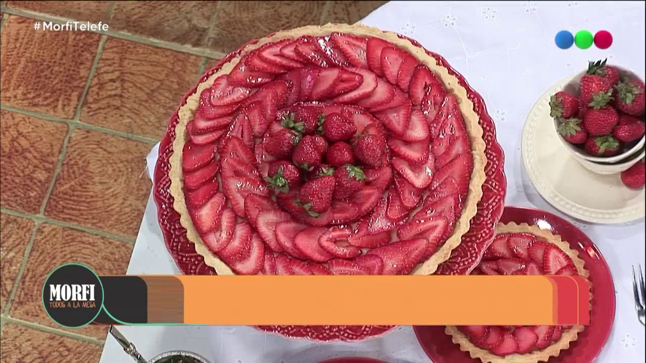 Tarta de frutillas light - Morfi