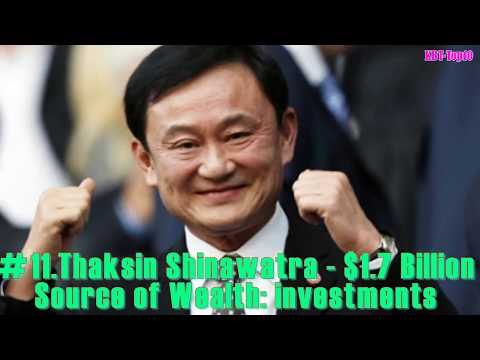 Thailand's 50 Richest / Top 50 Richest People in Thailand