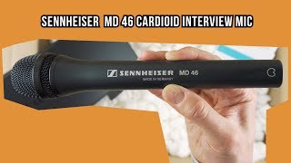 Sennheiser MD 46 Cardioid Interview Microphone |review|