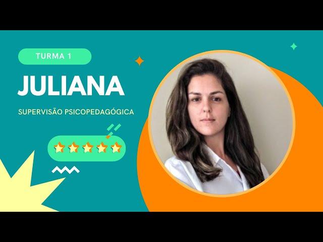 SUPERVISÃO PSICOPEDAGÓGICA - FEEDBACK/DEPOIMENTO