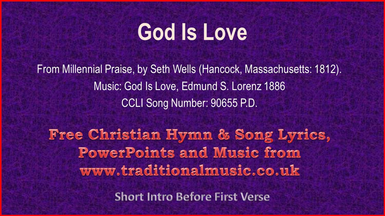God is love song