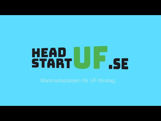 Headstart UF - Marknadsplatsen för UF-Företag