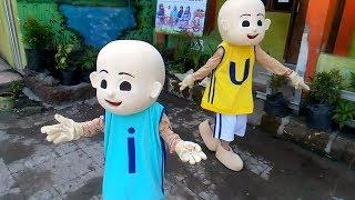 BADUT LUCU UPIN & IPIN DANCE - Kelayung Layung