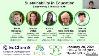 Sustainability in Education: Empowering Chemists to Act - Webinar