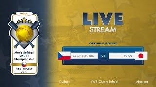 Czech Republic v Japan - WBSC Mens Softball World Championship 2019