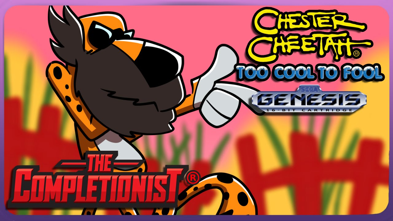 Chester Cheetah | The Completionist