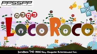 LocoRoco - PSP Gameplay (PPSSPP) 1080p