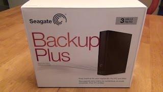 Seagate Backup Plus 3TB External Hard Drive (STCA3000101) Review