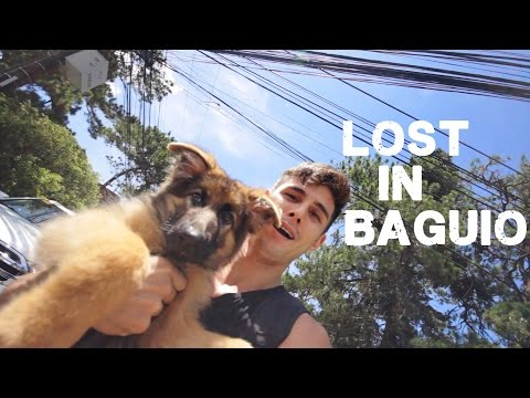 Getting lost in Baguio (foreigners travel philippines)