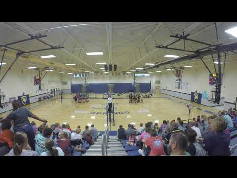 2017 Rutherford County TN MS Volleyball Finals Christiana Middle School vs. Siegel Set 2