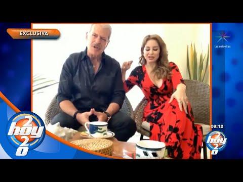 Sergio Goyri está listo para retomar los planes de boda con Lupita Arreola | Hoy