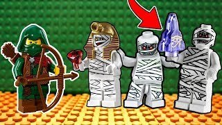 MÚMIAS APARECERAM NA PIRÂMIDE DO LEGO (Lego The Mummy)
