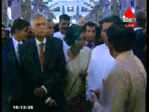 Maithripala Sirisena Sworn as the Sixth President of Sri Lanka