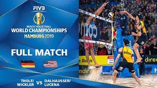 Thole/Wickler vs. Dalhausser/Lucena - Full QuarterFinal | Beach Volleyball World Champs Hamburg 2019