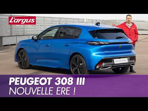 Peugeot 308 (2021). A bord de la nouvelle compacte de Peugeot
