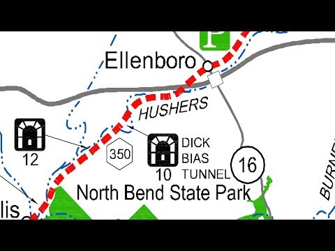 North Bend Rail Trail Series - North Bend State Park To Ellenboro.