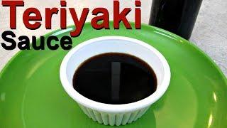 Teriyaki Sauce - Asian Restaurant Cooking Secrets - PoorMansGourmet
