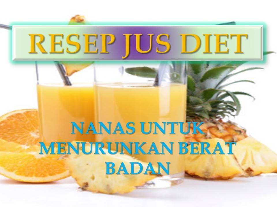 Jus Diet Resep Detox, Dalam 3 Hari Saja Bisa Turun Maksimal 10 kg
