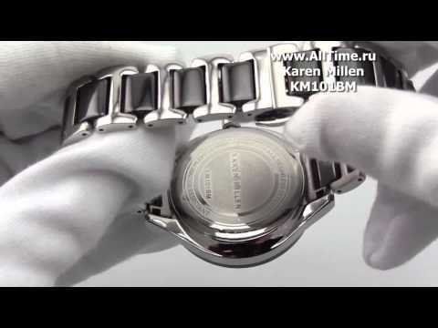 Женские наручные fashion часы Karen Millen KM101BM
