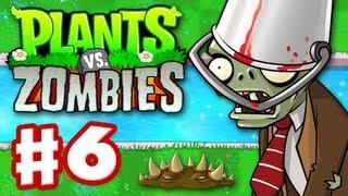 Plants vs. Zombies - Gameplay Walkthrough Part 6 - World 3 (HD)