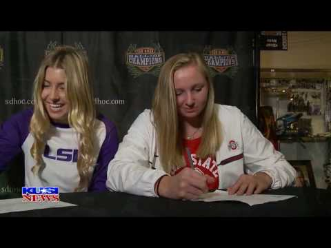 San Diego High School Signing Day: Madison James, Patrick Henry