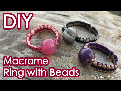 how-to-make-a-macrame-simple-ring