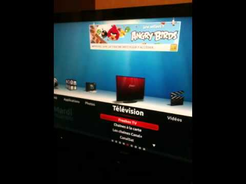 angry bird sur freebox r volution youtube. Black Bedroom Furniture Sets. Home Design Ideas