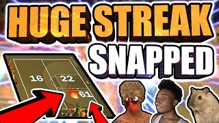 61 GAME WIN STREAK SNAPPED BY HANKDATANK25 & ANNOYINGTV • THEY CAME AROUND 4 TIMES & GOT EXPOSED!!😱