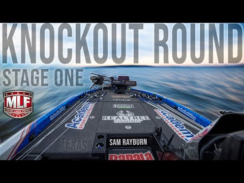 Knockout Round - Major League Fishing Stage One (Sam Rayburn, TX)