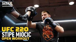 UFC 220: Stipe Miocic Open Workout - MMA Fighting