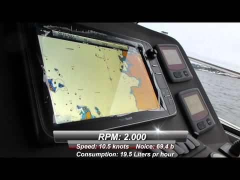 Test Marex 320 ACC with Yanmar 8 LV 370