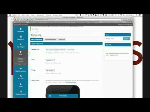Building an App with WordPress