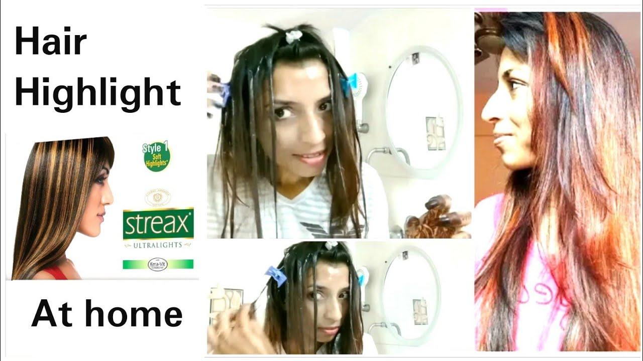 How To Highlight Hair At Home Diy Highlights Allure Diy Highlights