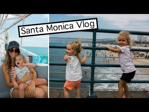 We Missed Our Flight To Australia! Santa Monica Vlog!