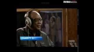 Tomorrow Bokra Charity Anthem Dubai TV interviews Producers Quincy Jones Badr Jafar.mp3