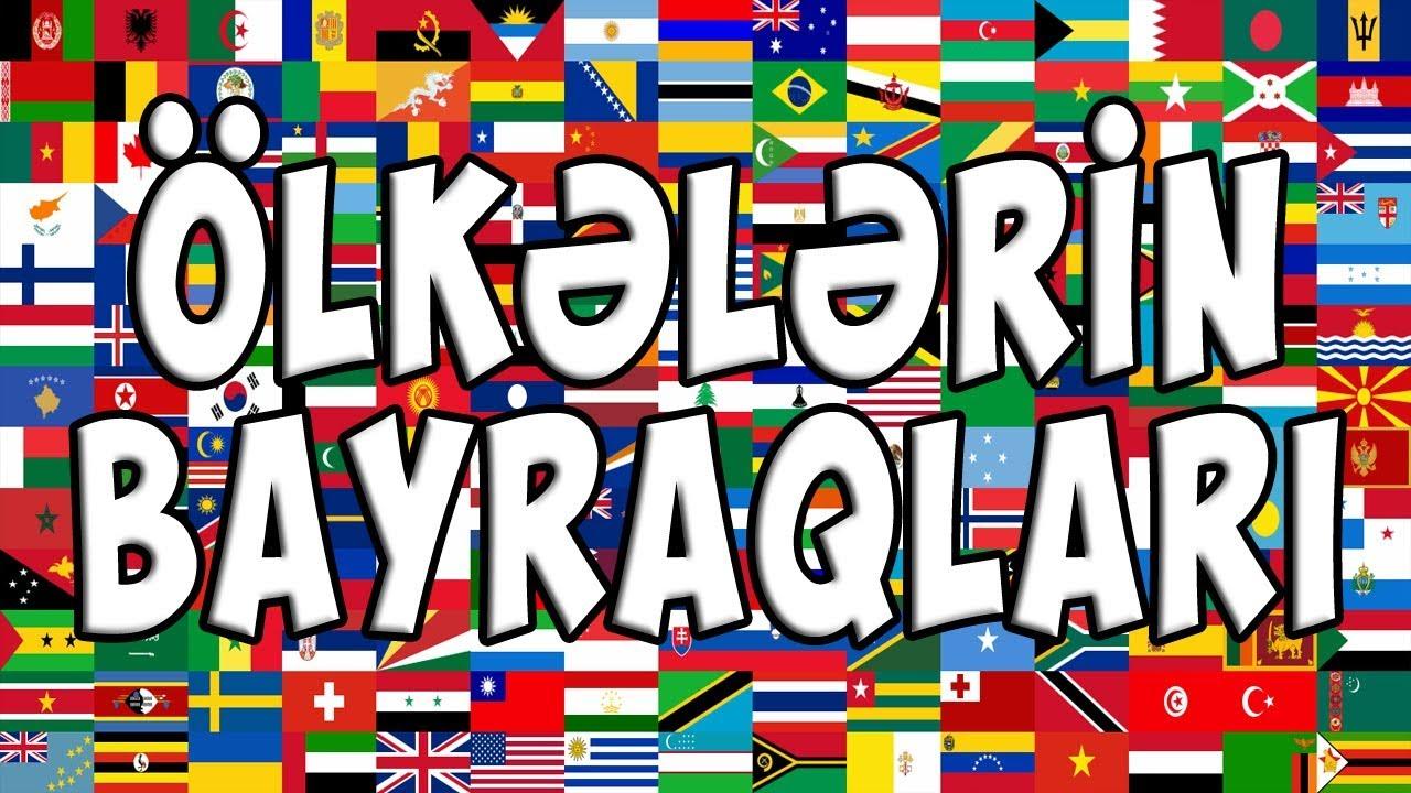Download Ölkələrin Bayraqları - Flags of the World Countries - Флаги стран мира (172 bayraq-flags-флаги)