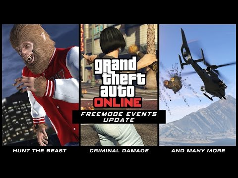 GTA Online Freemode Events Update & Rockstar Editor on Console