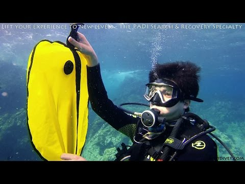 PADI Search And Recovery Diving Specialty