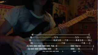 How To Play (With Tabs): A Single Moment Of Sincerity - Asking Alexandria